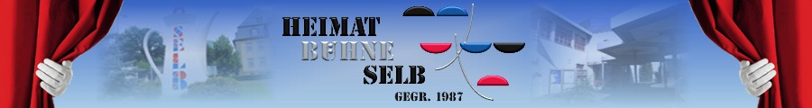 Gästebuch Banner - verlinkt mit http://www.heimatbuehne-selb.de